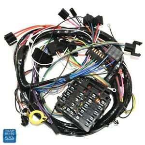 1970 Chevelle Monte Carlo Dash Harness Complete For Factory Ssgauges