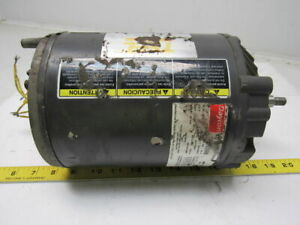 Dayton 9n098 1 1 2hp Electric Motor 208 230 460v 3ph 56j Frame 3450rpm