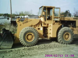 Michigan 175b Loader Cumm diesel 5 Yard Bucket