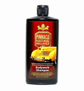 Pinnacle Bodywork Shampoo Car Wash Soap 16 Oz