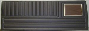 70 Plymouth Duster 340 Front Rear Door Panels With Woodgrain Chrome Pui