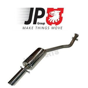For Porsche 924 944 Rear Sport Polished Stainless Steel Muffler Jp Group Dansk