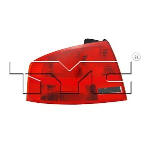 For Audi A4 Quattro Sedan 05 08 Nsf Certified Driver Left Outer Taillight Tyc