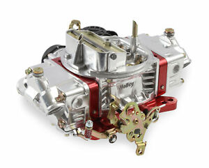 Holley 0 86870rd 870 Cfm Ultra Street Avenger Carburetor W red Billet