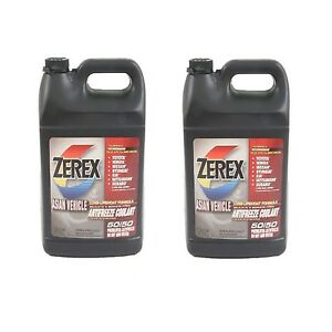 2 Gallons Pink Engine Coolant Antifreeze Fluid Zerex For Lexus Toyota Infiniti