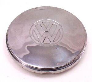 7 5 Chrome Vw Hub Cap Wheel Cover Beetle Ghia Fastback Genuine