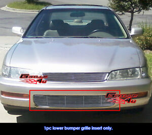 Fits 96 97 Honda Accord Lower Bumper Billet Grille