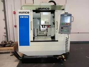 Hurco 5 Axis Vmc Model Vmc 10u will Ship Item At Your Expense