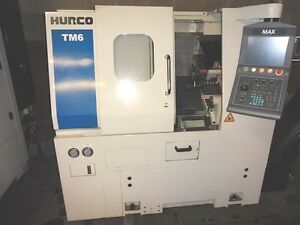 Hurco 2 Axis Cnc Lathe Model Tm 6 will Ship Item At Your Expense