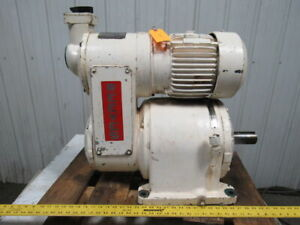 Reeves Reliance Size 233 Adjustable Speed Reducer 3hp 230 460v 47 1 1 Ratio