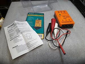 Extech 480303 Three Phase Motor Rotation Tester New Nos Sale Nib 99