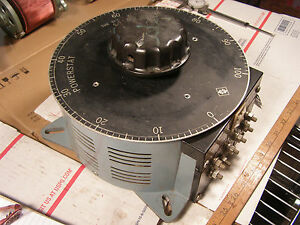 Variac Type 246 Powerstat Autotransformer Tested Guaranteed
