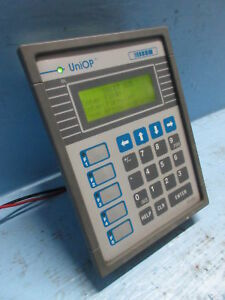 Uniop Cp01r 04 0021 Keypad Display Screen Operator Interface Cp 01a Powers On