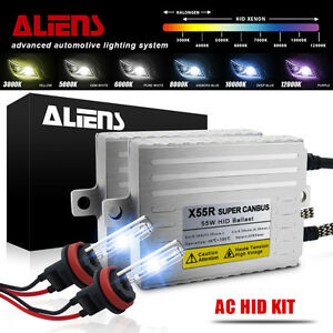 55w 9003 9004 9005 9006 9007 Hid Canbus Ballasts Headlight Kit H1 h3 h4 h11 h13