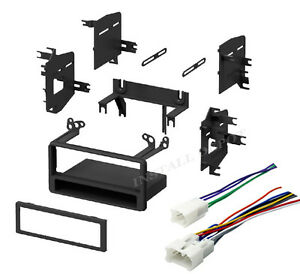 Complete Toyota Car Stereo Radio Install Mounting Dash Kit Wiring Harness