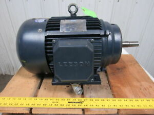 Leeson 151569 60 20 Hp 3540rpm 208 230 460v 3ph Electric Motor