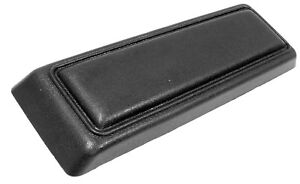 1971 1973 Ford Mustang Console Arm Rest Compartment Lid Black