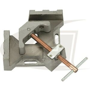 2 axis Welders Angle Clamp With 5 32 Jaw length Quick Acting Screw