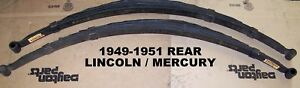 Rear Leaf Springs For 1949 1951 Mercury Passenger Car