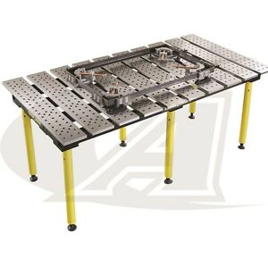 Buildpro 6 5 1 98m X 3 Welding Table 30 High Standard Finish