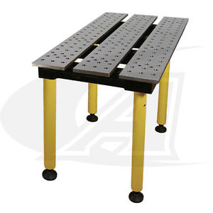 Buildpro 2 0 56m X 3 Welding Table 36 Of Height With Standard Finish