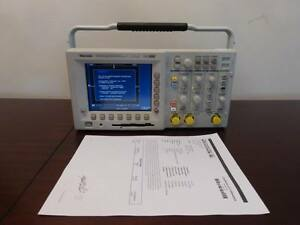 Tektronix Tds3012b 100mhz 1 25gs s Digital Phosphor Oscilloscope Calibrated