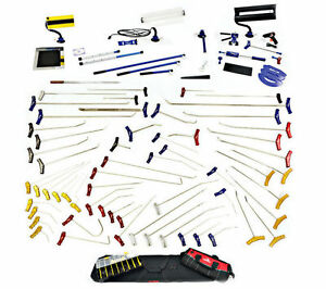 60 Pc Pdr Paintless Dent Repair Tools Glue Pulling Xtreme Set