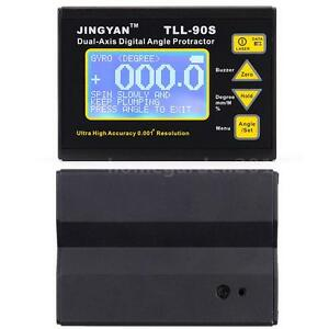 Tll 90s Dual Axis Protractor Digital Inclinometer Angle Meter Level Box L5a3