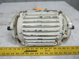 Westinghouse 773b831g07 3 4hp 3ph 230 460v 1755rpm Double Shaft Electric Motor