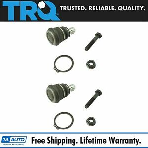 Trq Front Suspension Lower Ball Joint Lh Driver Rh Passenger Pair For Soul Rio