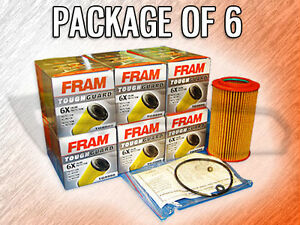 Fram Tg9999 Cartridge Oil Filter For Hyundai Kia Case Of 6