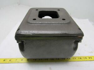 Baldor Cast Iron Electric Motor Terminal Conduit Box W cover