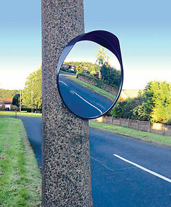 60cm Convex Car Outdoor Garage Driveway Security Safety Blind Spot Bend Mirror