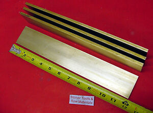 15 Pieces 1 4 X 2 C360 Brass Flat Bar 12 Long Solid 250 Mill Stock H02