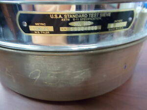 Usa Standard Test Sieve No 140