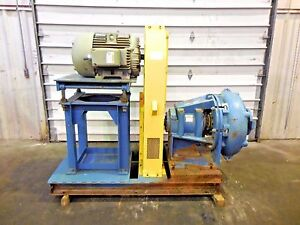 Rx 3619 Metso Hm200 Fhc d 8 X 6 Slurry Pump W 50hp Motor And Frame