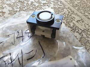 Gal Rrb Coil Round Pushbutton 220v Switch Rare New Nos 99