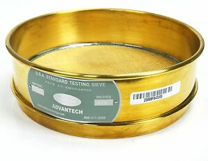 Advantech Usa Standard No Magnetic Stainless Steel Testing Sieve No 20 0331