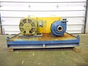 Rx 3644 Metso Hm75 Lhc d 3 X 2 Slurry Pump W 40hp Motor And Frame