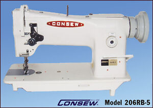 Consew 206rb 5 Upholstery Sewing Machine Brand New