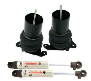 Ridetech 64 72 Chevelle A Body Coolride Front System Air Spring Shock 11221010