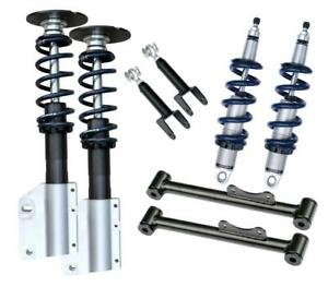 Ridetech 79 89 Ford Mustang Coil Over Suspension System Level 2 Kit 12120210