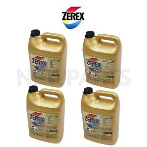 4 Gallons Pack Zerex G 05 Yellow Engine Coolant Antifreeze Fluid For Acura Honda