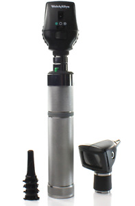 Welch Allyn 3 5v Coaxial Opthalmoscope diagnostic Otoscope Set W Handle