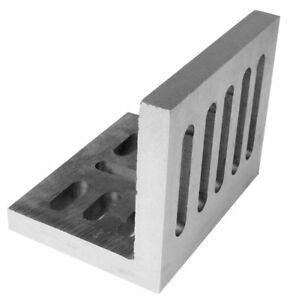 6 X 5 X 4 1 2 Open End Slotted Angle Plate 3402 0203