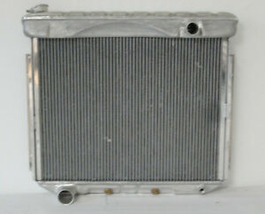 Ford Aluminum Radiator 1957 To 1959 Full Size Ford And Mercury Lifetime Warranty