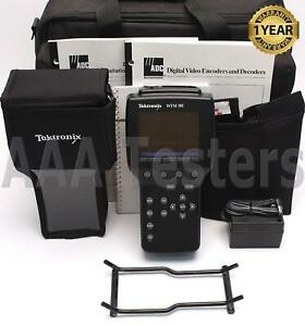 Tektronix Wfm 90 Handheld Waveform Vector Audio Display Monitor Wfm90 Wfm 90