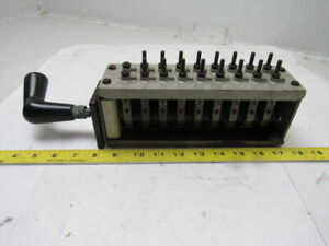 Westinghouse Np25916 e Rotary Switch 16 Contacts Type W 600 V 20 Amp Continuous