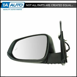 Exterior Power Heated Blind Spot Turn Signal Chrome Mirror Lh For Tacoma Truck