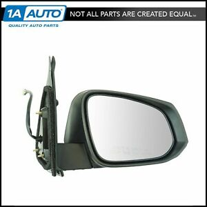 Exterior Power Heated Blind Spot Turn Signal Black Mirror Rh For Tacoma New